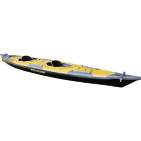 Pakboats Puffin Saranac Solo Deck, yellow